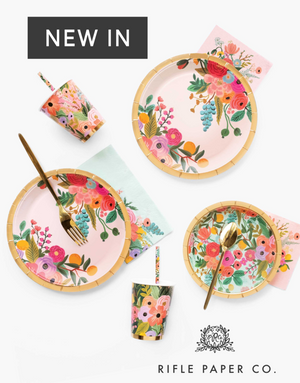 Rifle Paper Co UK Partyware Plates and Cups