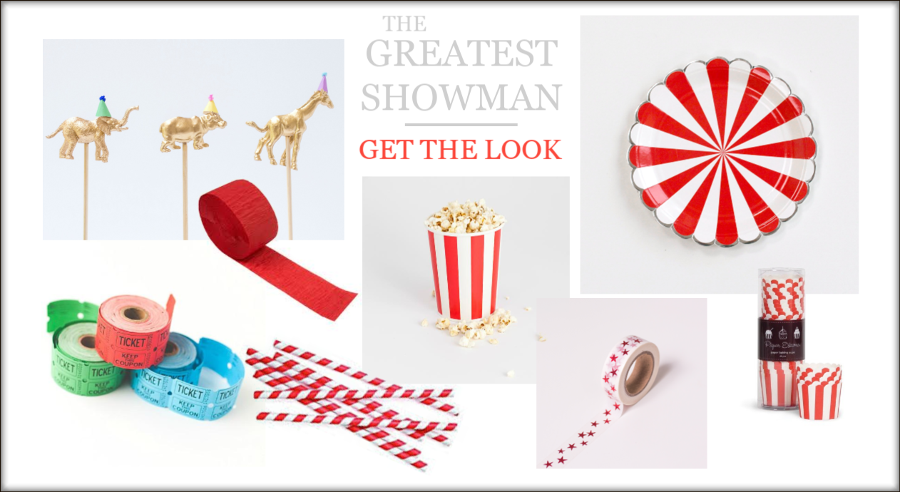 The Greatest Showman Party - Get The Look