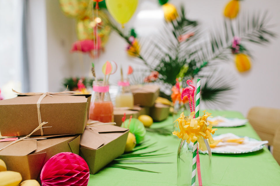 Bright Tropical Fiesta Party