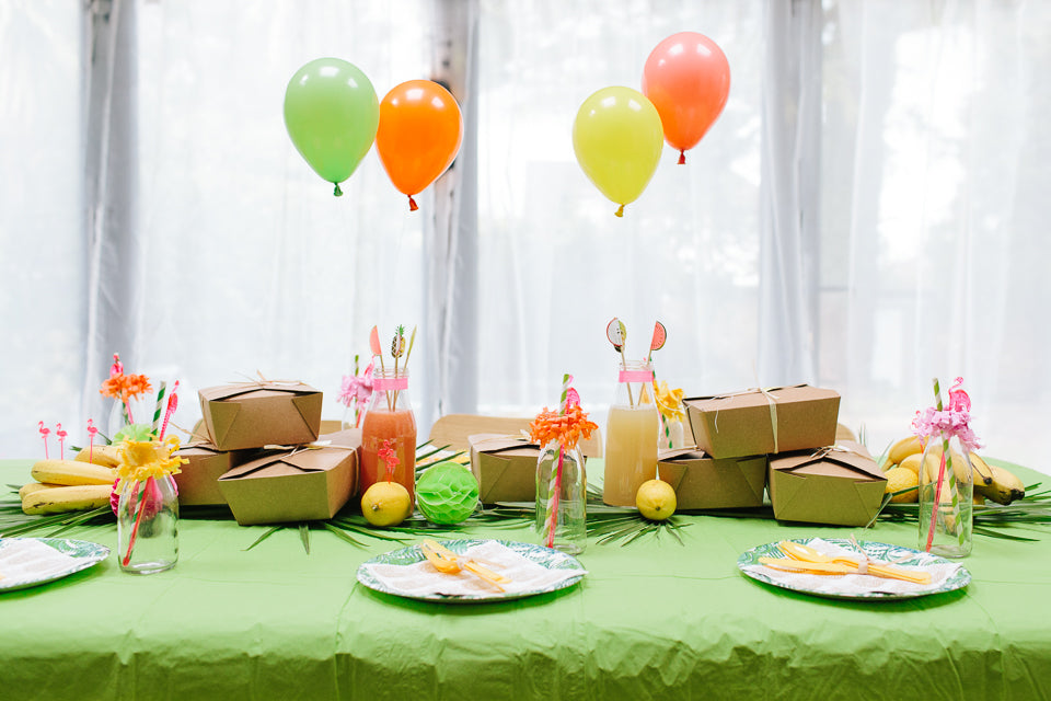 Tropical Rio 2016 Party Theme Ideas