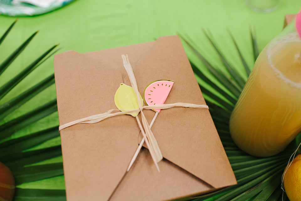 Tropical Themed Childrens Party Ideas