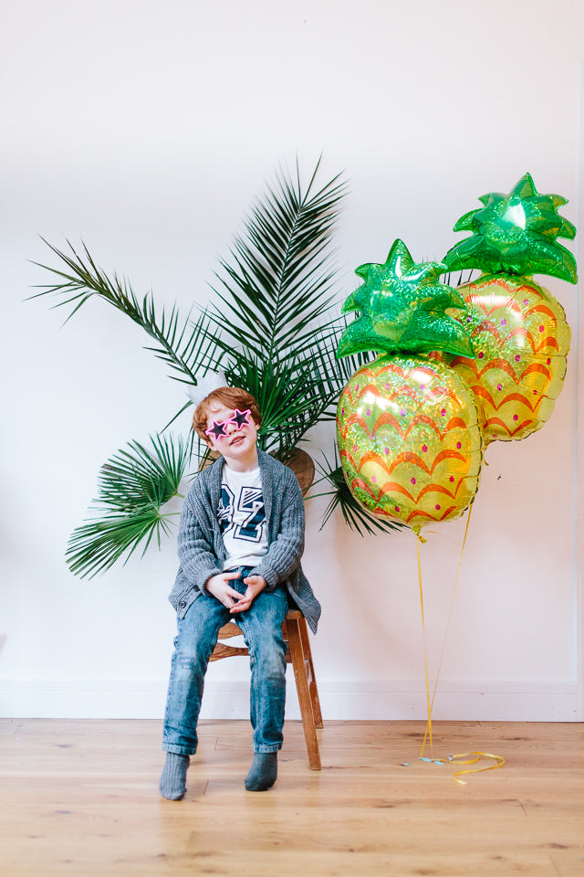 Cool Tropical Pineapple Party Theme