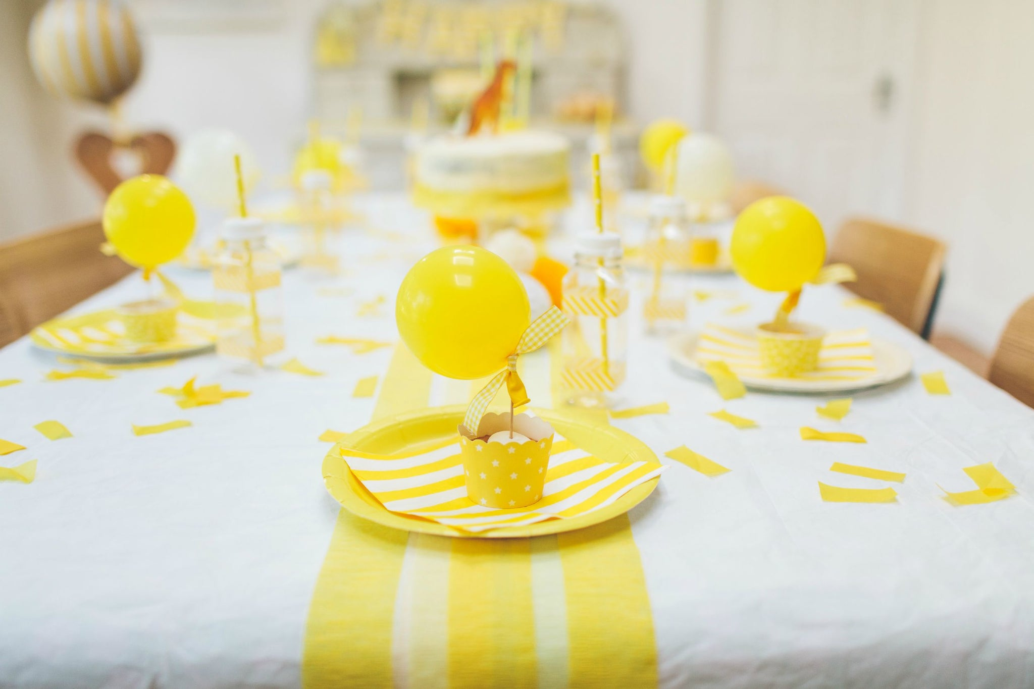 Yellow Sunny Birthday Party