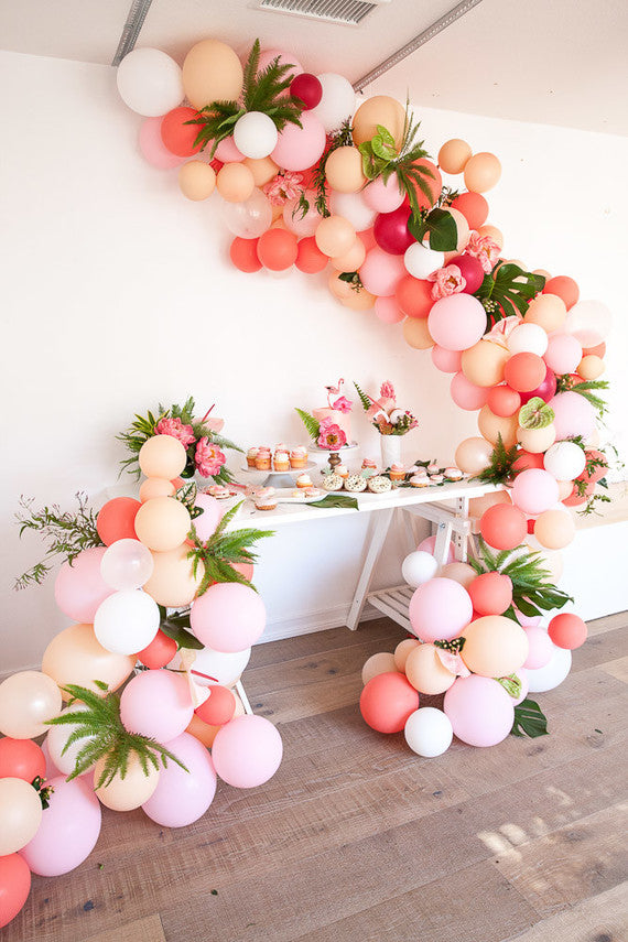 Balloon Garland Styling Tips Pretty Little Party Shop