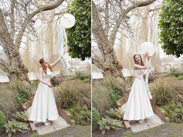 Big White Wedding Balloon
