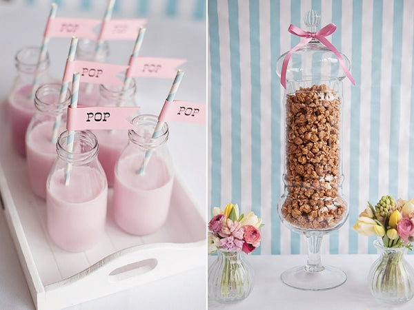 Mini Milk Bottles Wedding