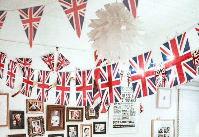 British Themed parties