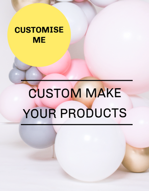 Custom Made Party Decorations and Balloons UK