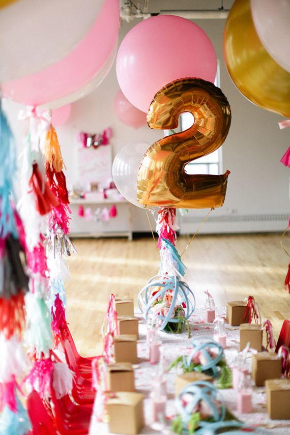 Big Gold foil Number balloons