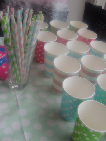 Stylish Party Cups and Plates