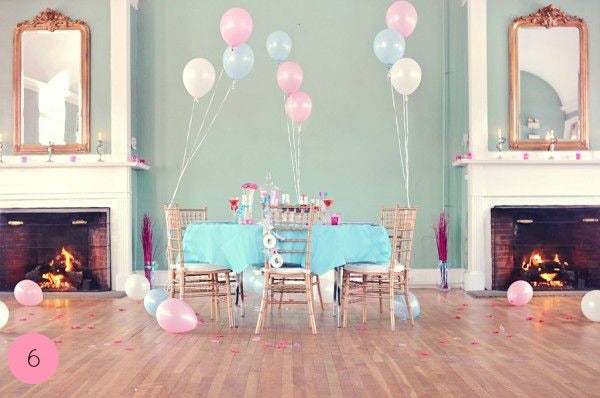 Pastel Balloons and Pastel Party