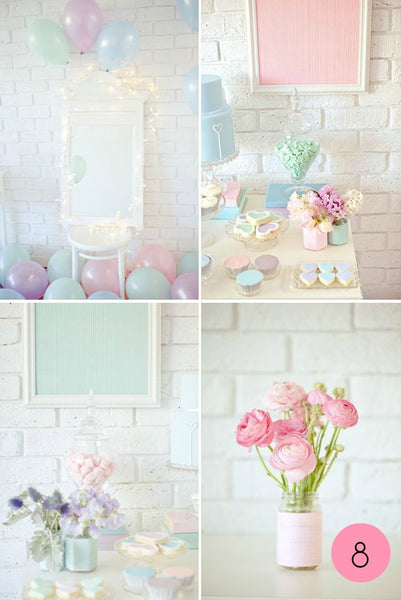 Pastel Ideas for Parties