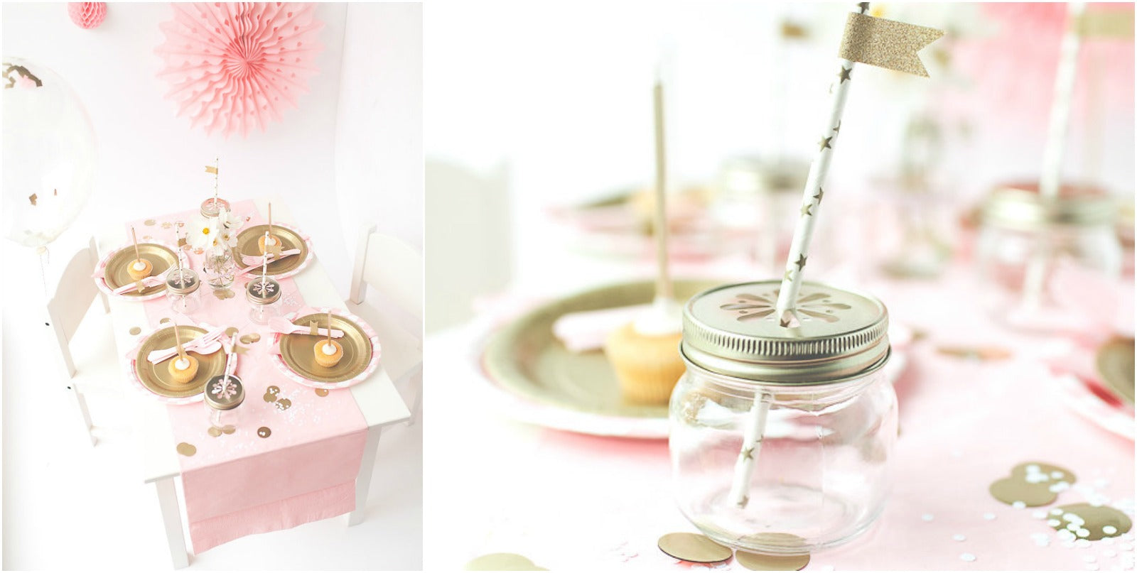 Dreamy Pink Gold Party Pretty Party Ideas Inspiration