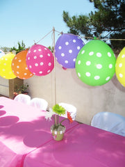 High Quality Balloon Garlands Are So Simple To Create, String Your Balloons Together For  A Fun And Bright Bunting. This Is A Really Good Way To Use Balloons In An  ...