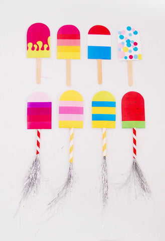 Popsicle Party Invitations