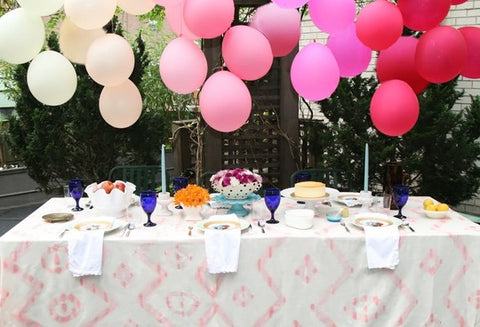 Balloon Ideas Without Helium | Pretty Little Party Ideas