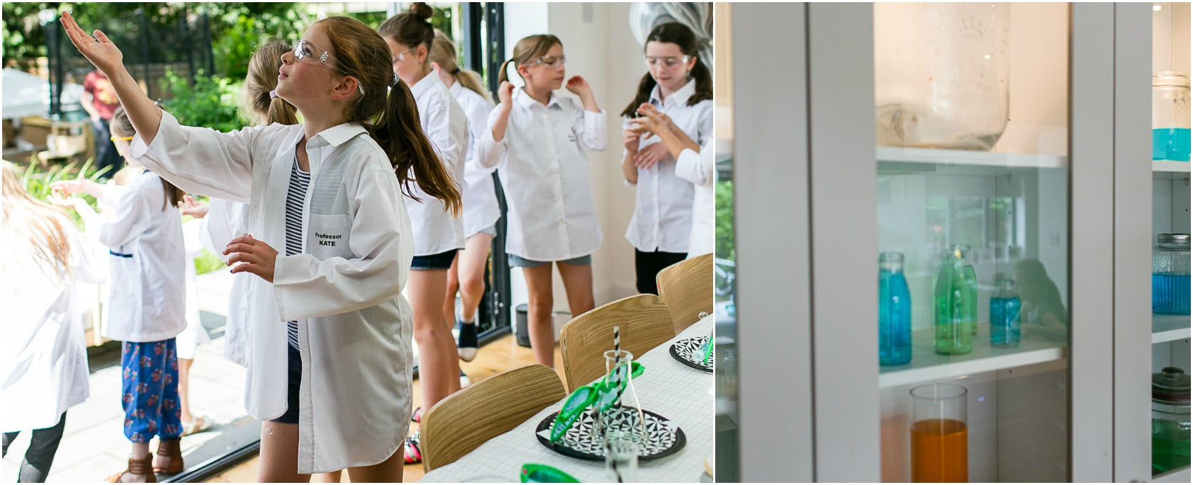 Kids Modern Science party