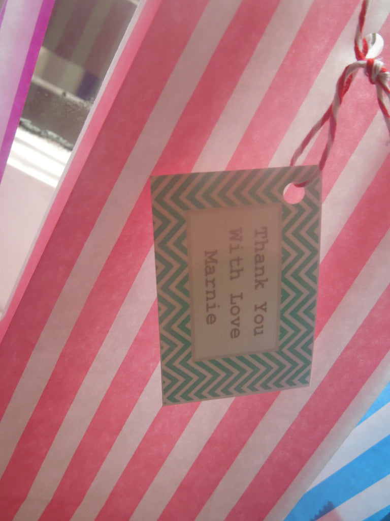 Striped Party Bag