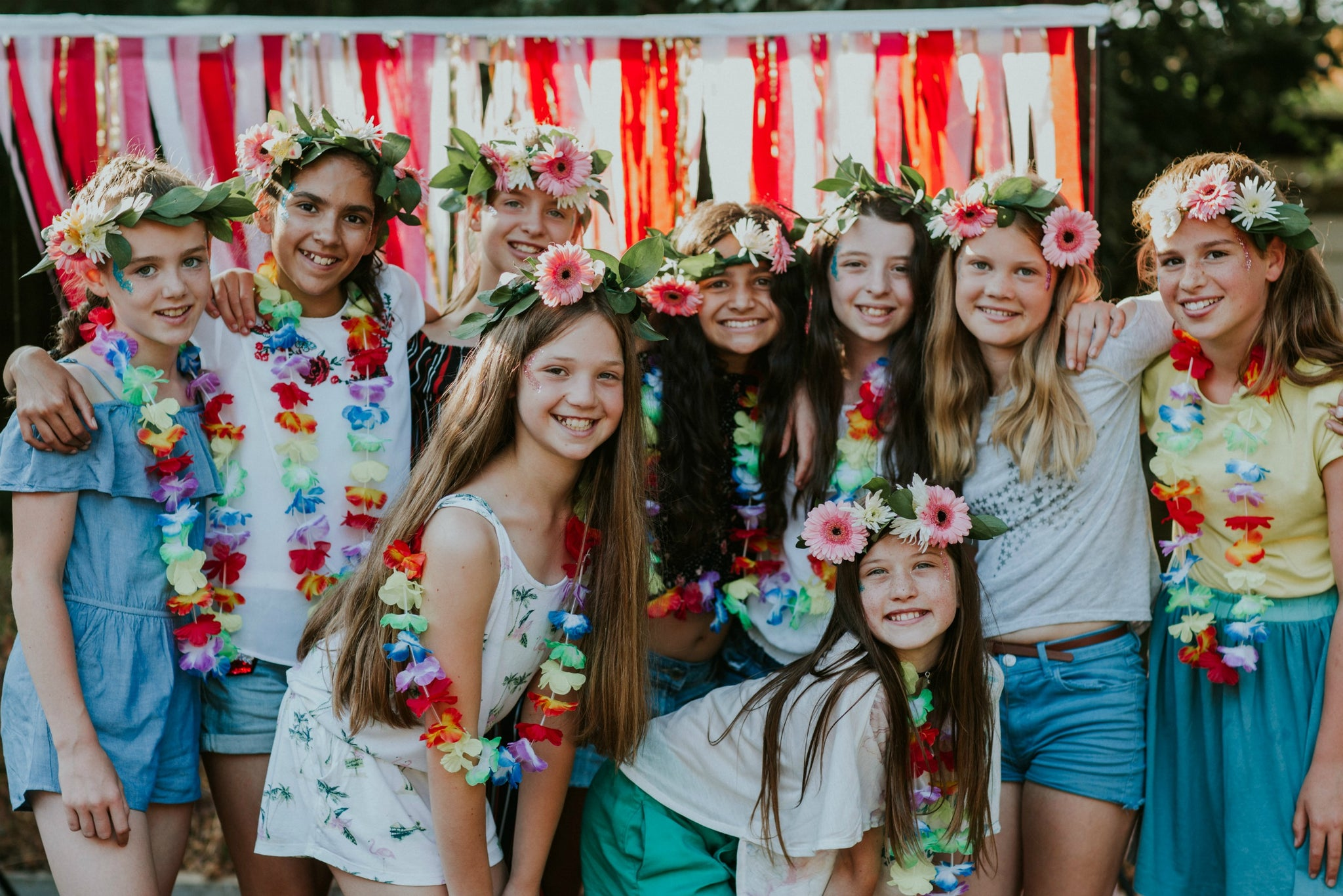 Tropical Fiesta Party - Eleven Year Olds Party