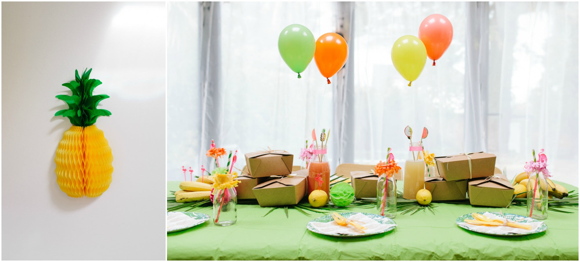 Pineapple Fruit Tropical Kids Party