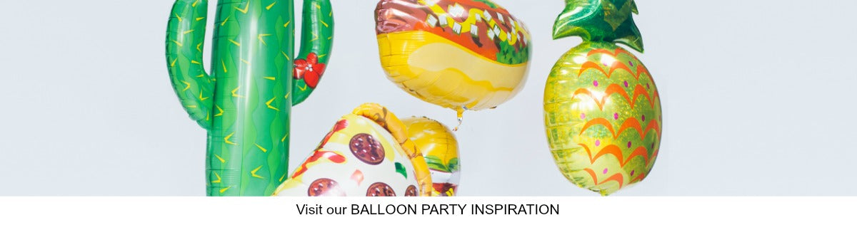 Balloon Party Styling Ideas