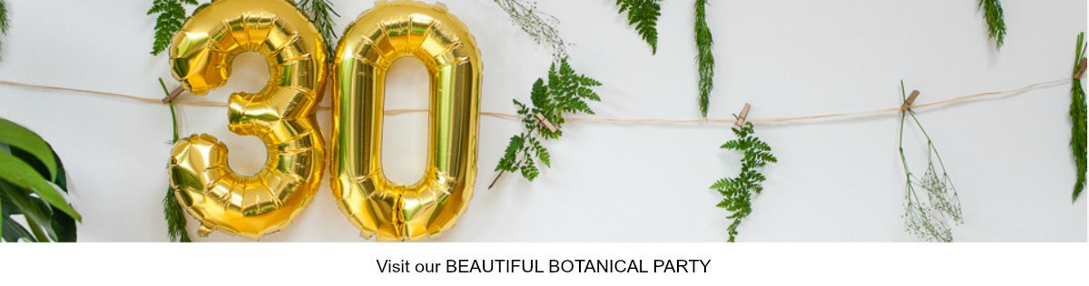 Botanical Party Theme