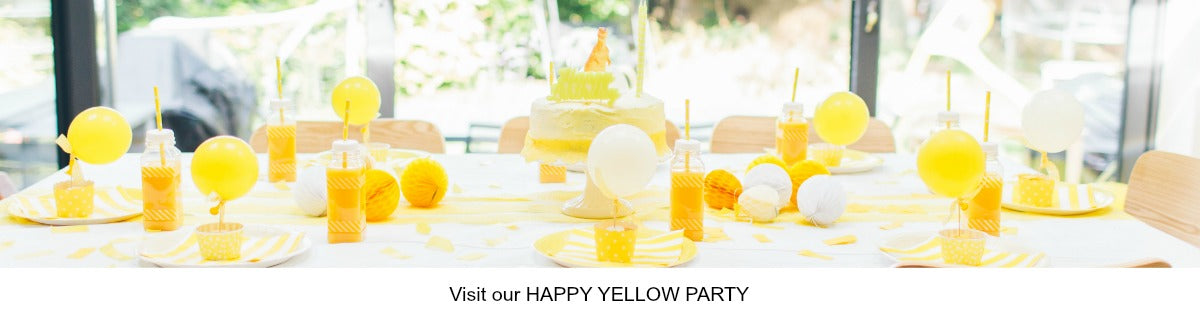 Sunny Happy Yellow Party