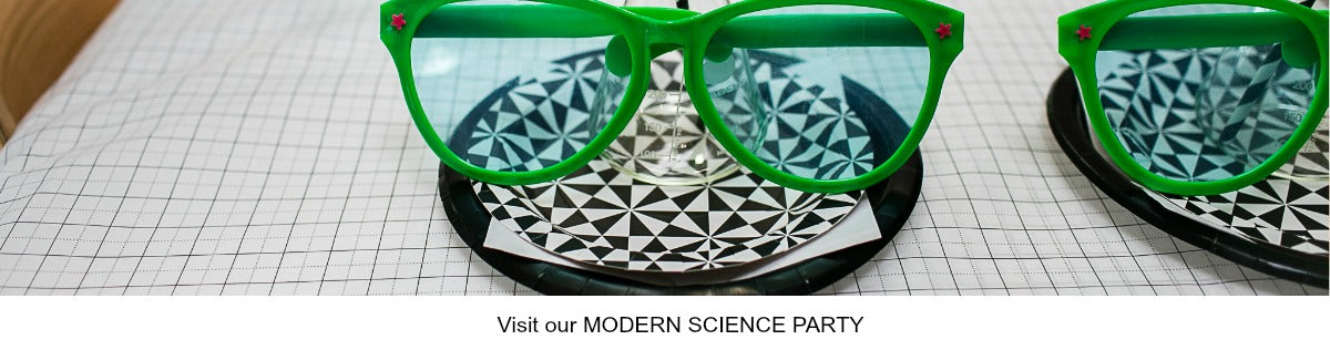 Modern Science Party Ideas
