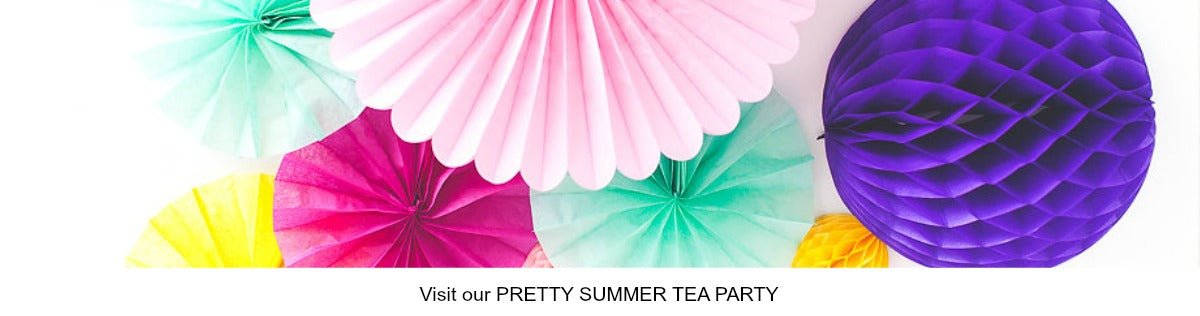 Summer Tea Party IDeas