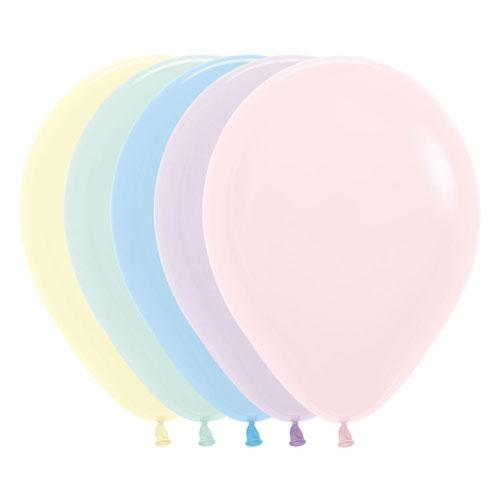 Chalk Pastel Balloons Mix | Pastel Latex Balloons