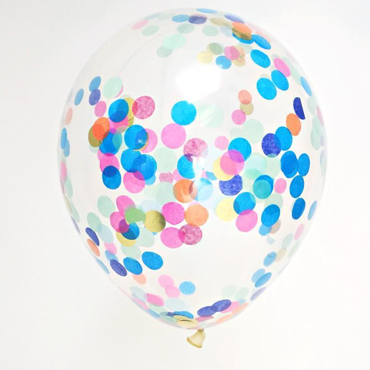 "Big Custom Made Confetti Balloon | 16"" Confetti Filled Balloon Bespoke"