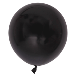 17 Inch Big Round Balloon Black
