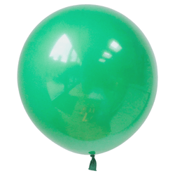 17 Inch Big Round Balloon Green