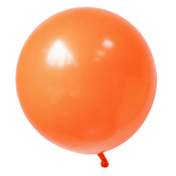 17 Inch Big Round Balloon Orange
