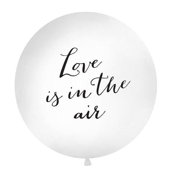 Giant Wedding Balloon Love Is In The Air