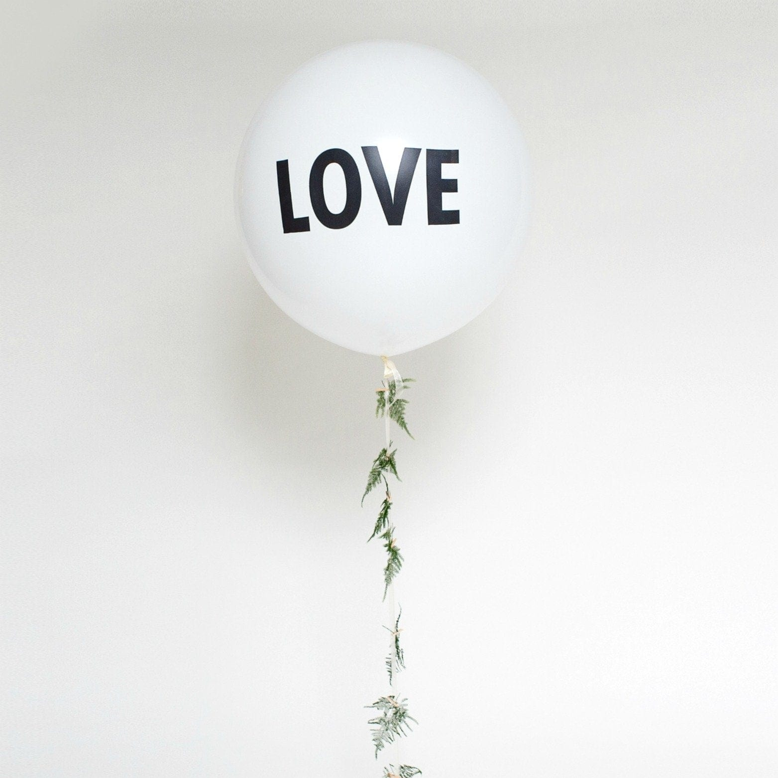 LOVE Wedding Balloon | Big Round Balloons