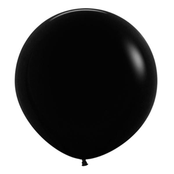 "24"" Black Balloon 