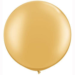 "30"" Big Round Balloon Gold"