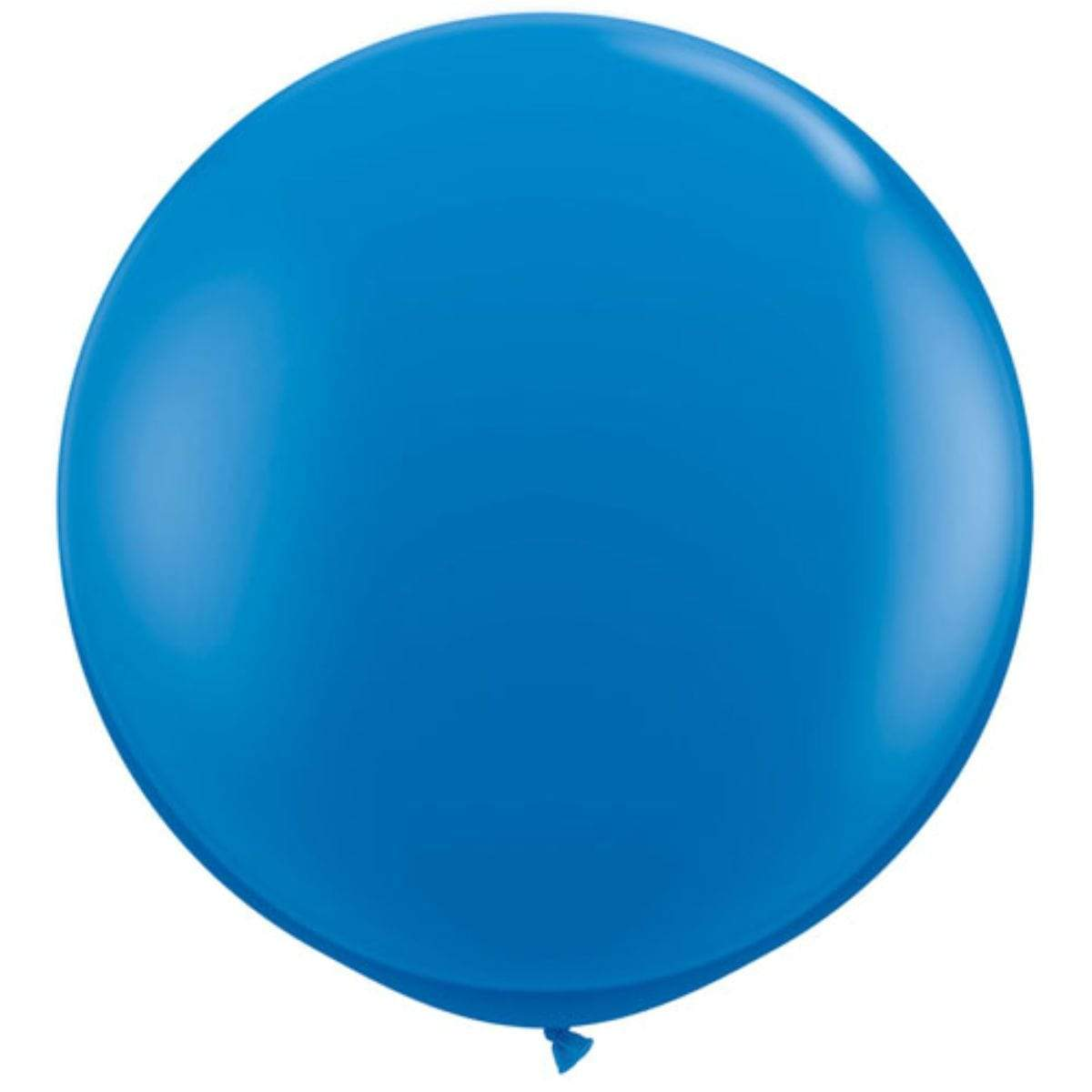 "Blue 36"" Balloon 