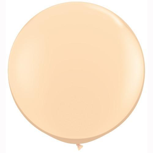 "Big Blush Balloon 36"" for Parties, Weddings and Events."
