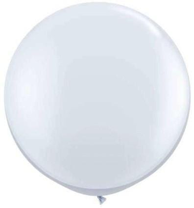 "Clear Jumbo Balloon Big Blush Balloon 36"" for Parties, Weddings and Events. Qualatex"