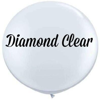 "Clear 35"" Round Big Balloons"