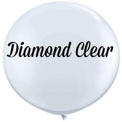 "36"" Big Round Balloon Clear"