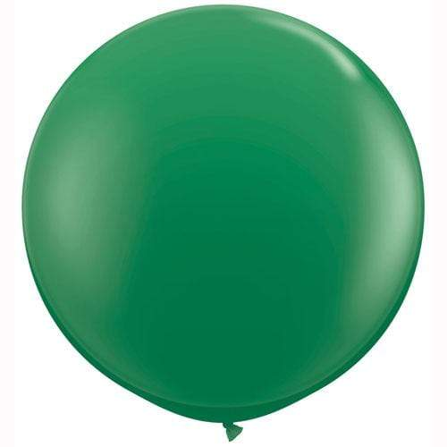 "3ft 36"" Giant Green Balloon Qualatex"