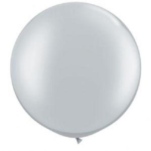 "Grey 36"" Balloon 