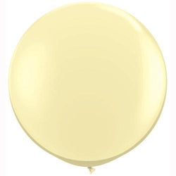 "36"" Big Round Balloon Ivory"