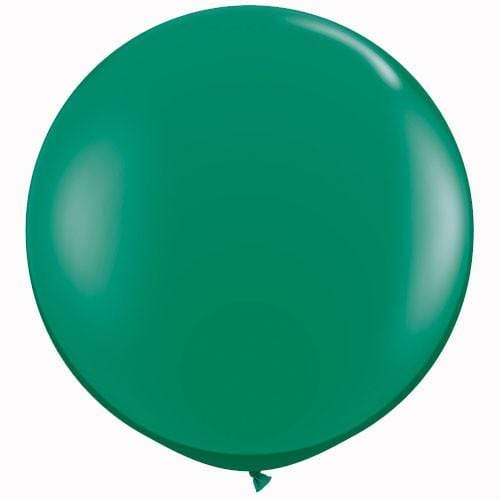 "Jewel emerald Green 36"" Balloon For Parties events and Weddings"