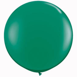 "36"" Big Round Balloon Jewel Emerald Green"