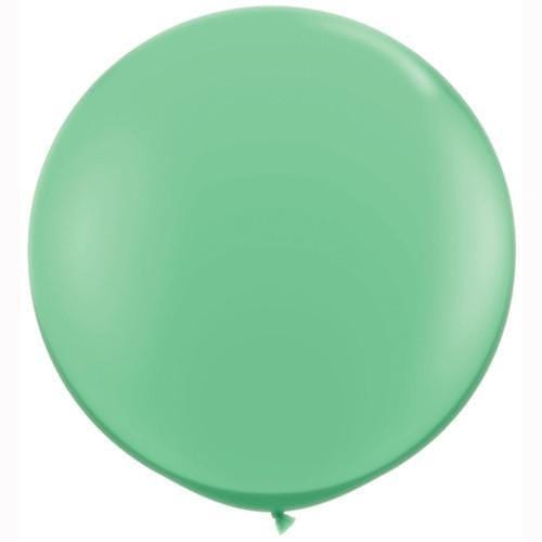 "Mint 36"" balloon  for Parties, Weddings and Events. Qualatex"