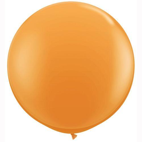 36 inch Orange Balloon  for Parties, Weddings and Events. Qualatex
